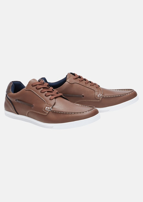 Tan Carlton Shoe