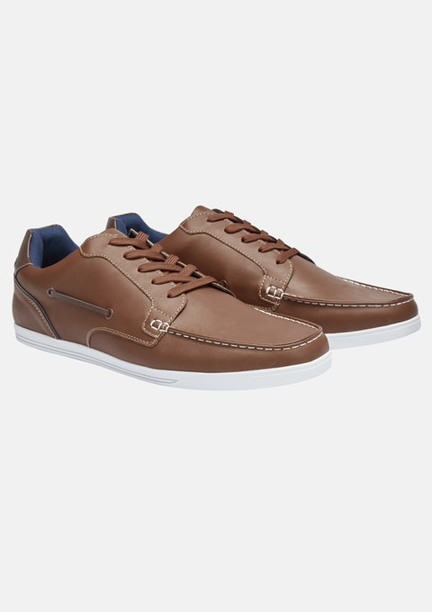 Tan Carlton Wide Shoe