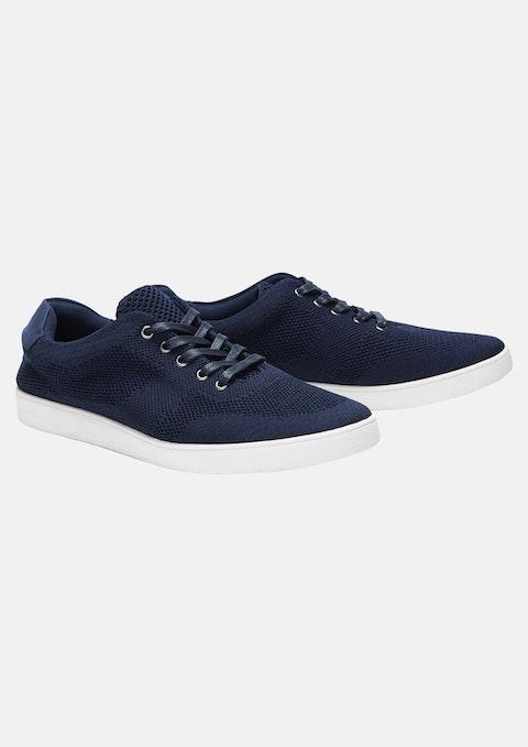 Navy Coast Knit Sneaker