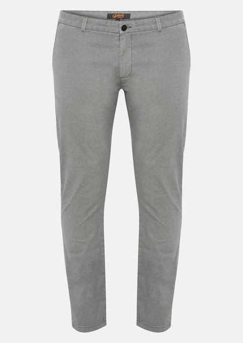 Charcoal Crew Textured Pant