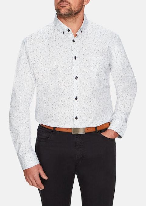 Sky Aster Print Shirt