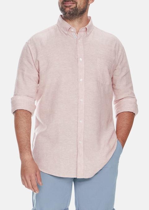 Dusty Pink Holden Linen Shirt
