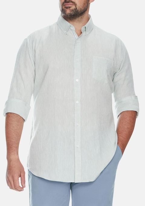 Sage Holden Linen Shirt