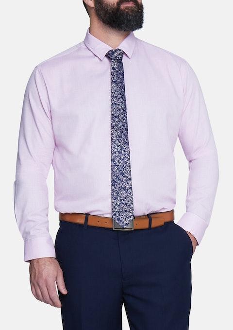 Pink Ringwald Textured Shirt