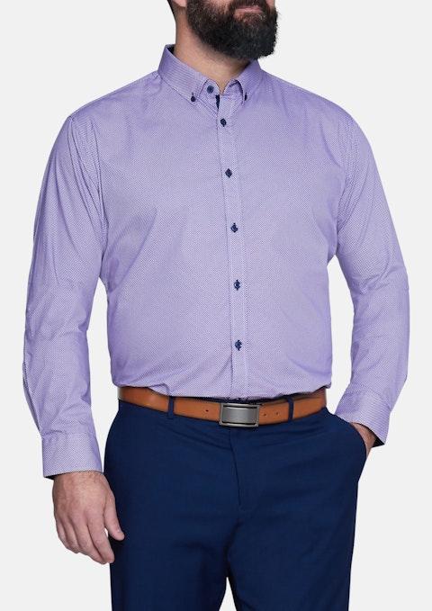 Lilac Vander Print Shirt