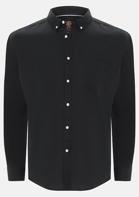 Black Elliott Linen Shirt