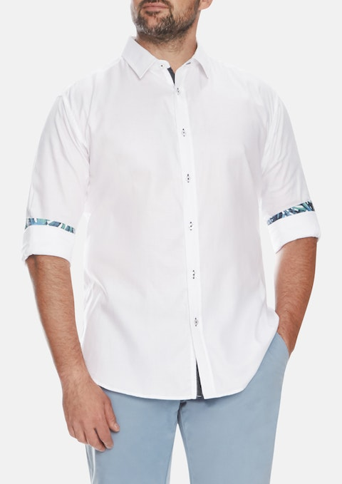 White Springs Textured Shirt