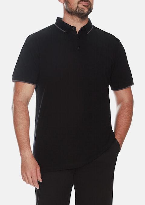 Black Essential Polo