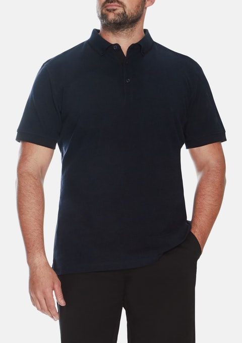 Navy Essential Polo