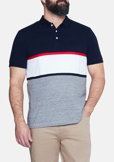 Navy Heritage Polo