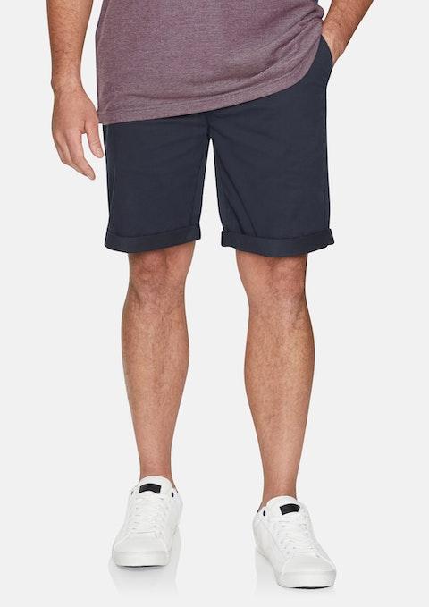 Blue Harper Stretch Short