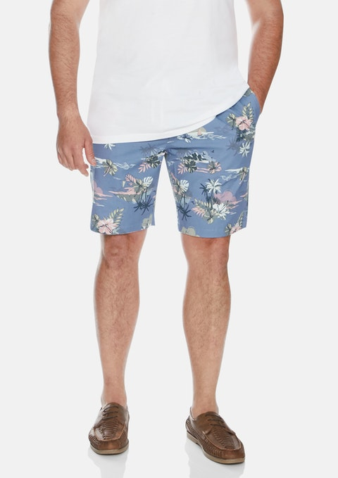 Blue Blue Hawaii Swim Shorts