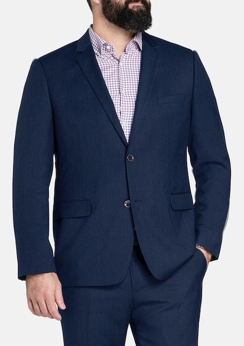 Navy Roosevelt Texture 2 Btn Jacket