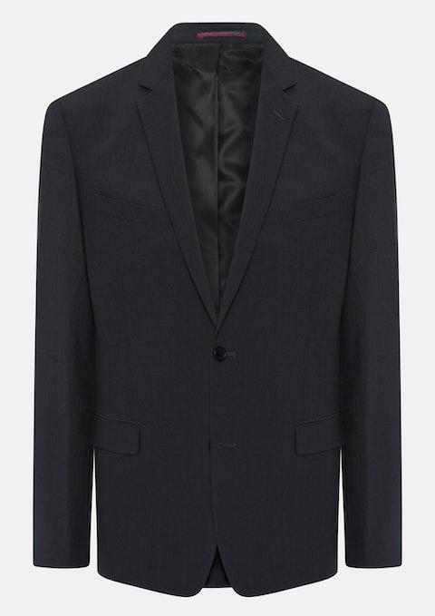 Charcoal Johnson Stretch 2 Bttn Jacket