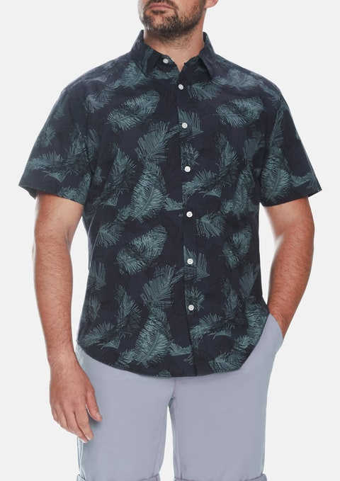Denim Dark Tropics Shirt