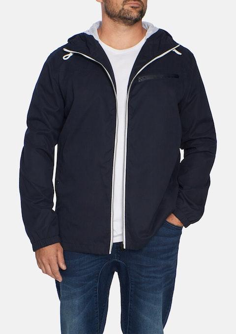 Navy Windbreaker Jacket