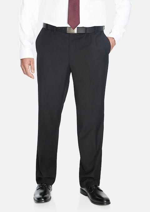 Charcoal Essential Elastic Waist Pant