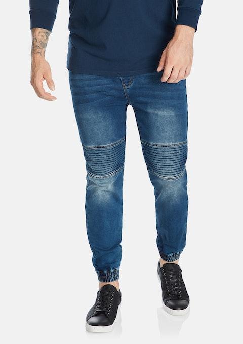 Denim Marlee Stretch Knit Cuff Jean