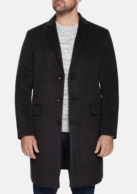 Charcoal Manchester Coat