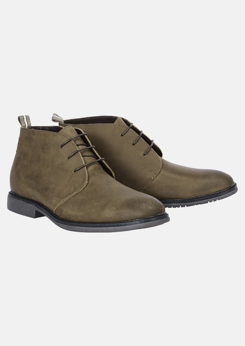 Chocolate Lance Desert Boot