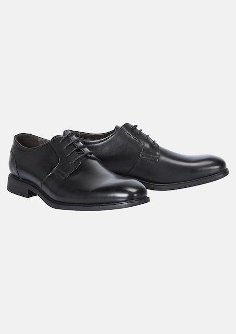 Black Napoli Wide Dress Shoe