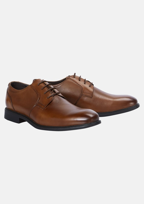 Tan Napoli Wide Dress Shoe
