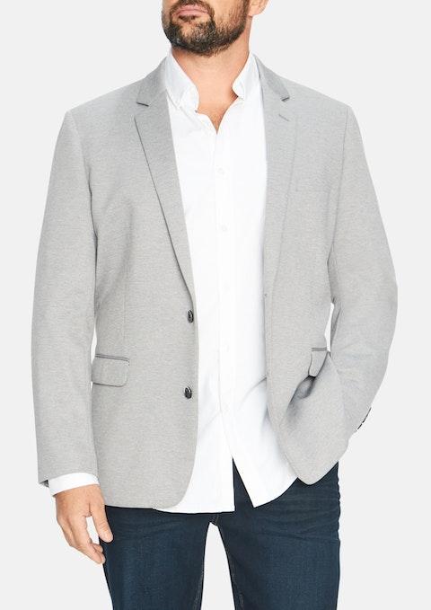 Grey Miller Stretch Blazer
