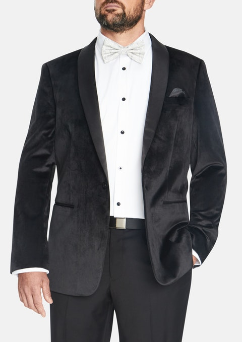 Black Casino Tuxedo Blazer