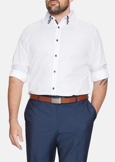 White Damon Textured Shirt