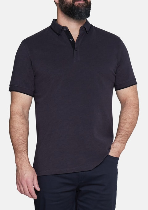 Charcoal Essential Polo