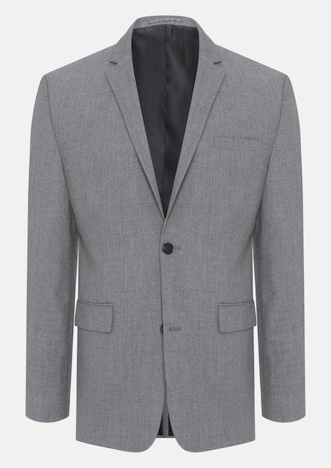 Grey Slater Stretch 2 Button Suit Jacket