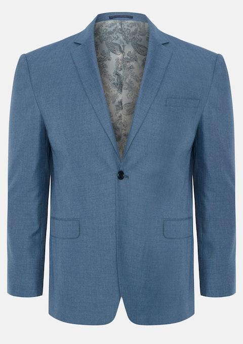 Slate Damon 1  Button Suit Jacket
