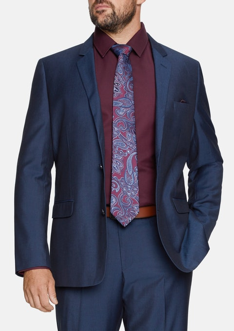 Midnight Vinnie 2 Button Suit Jacket