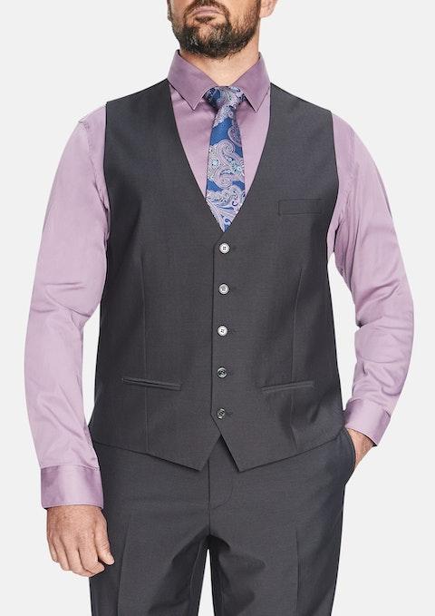 Charcoal Essential Waistcoat