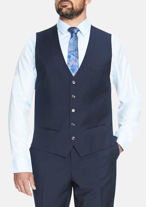 Navy Essential Waistcoat