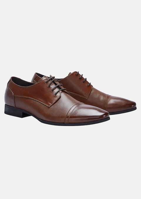 Tan - Tan Blake Leather Dress Shoe