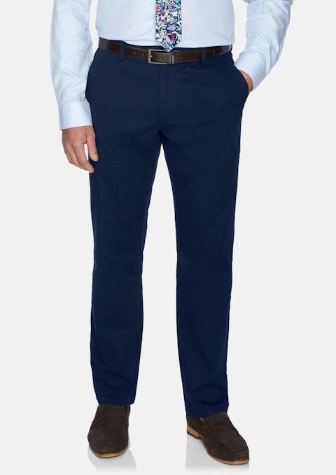 Nvy - Navy Conrad Stretch Canvas Pant