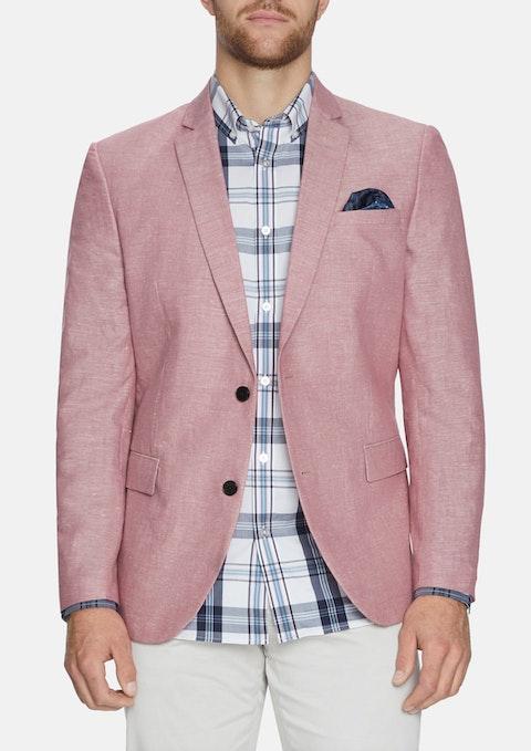 Pnk - Pink Perry Linen Blend Blazer