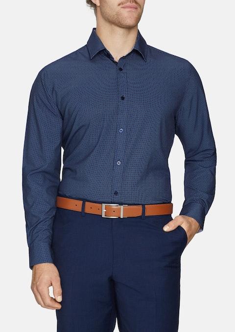 Navy Monte Stretch Shirt