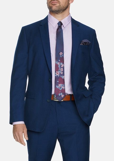 Nvy - Navy Lewis Texture 2b Suit Jacket